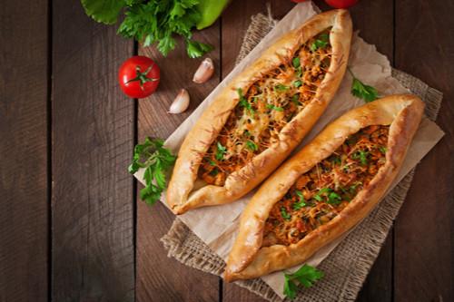 معجنات تركية - طريقة عمل صفائح اللحم التركية