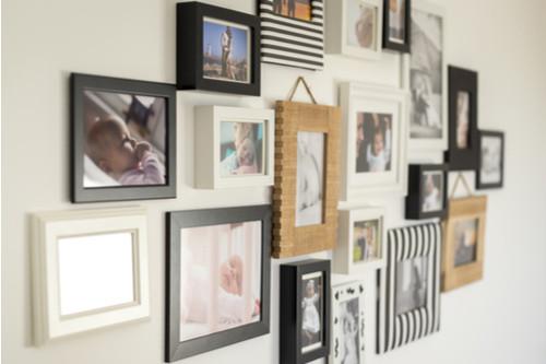 تزيين ممرات المنزل - معرض صور بالحائط