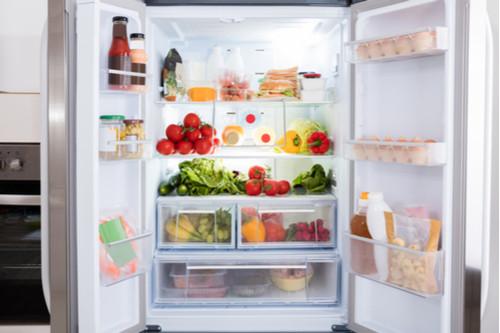 ضبط تبريد الثلاجة