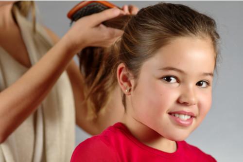 فرد الشعر للأطفال