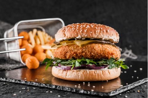 وصفات بالدجاج المفروم - طريقة عمل برجر الدجاج