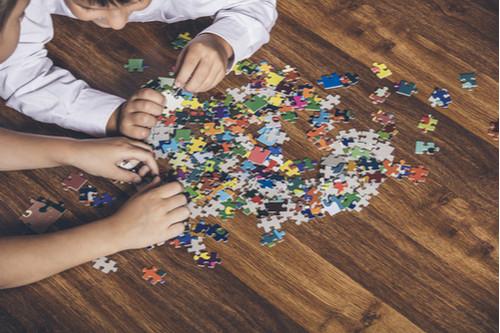 العاب تنمية المهارات العقلية للأطفال - البازل