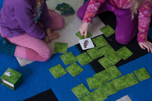 العاب تنمية المهارات العقلية للأطفال - كروت الذاكرة
