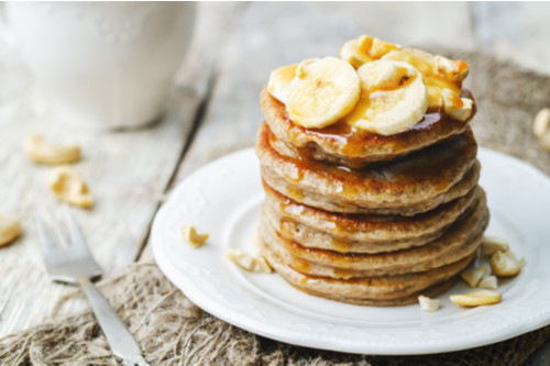 وصفات بالموز - طريقة عمل بان كيك الموز