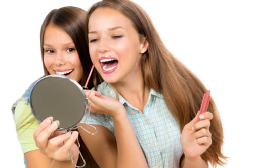 مكياج خفيف للبنات المراهقات