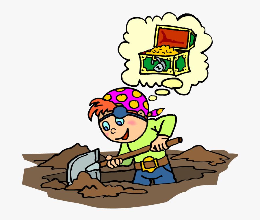 ألعاب حركية للأطفال والهدف منها ـ لعبة البحث عن الكنز