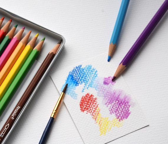 هدايا للأطفال عمر 10 سنوات ـ مجموعة أقلام ألوان