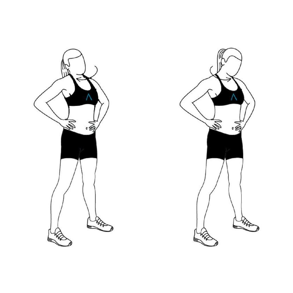 جدول للتمارين الرياضية اليومية ـ تمرين دوران الكتف