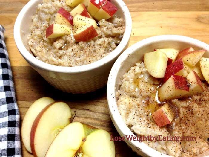 فوائد الشوفان لزيادة الوزن ـ وصفة الشوفان بالتفاح