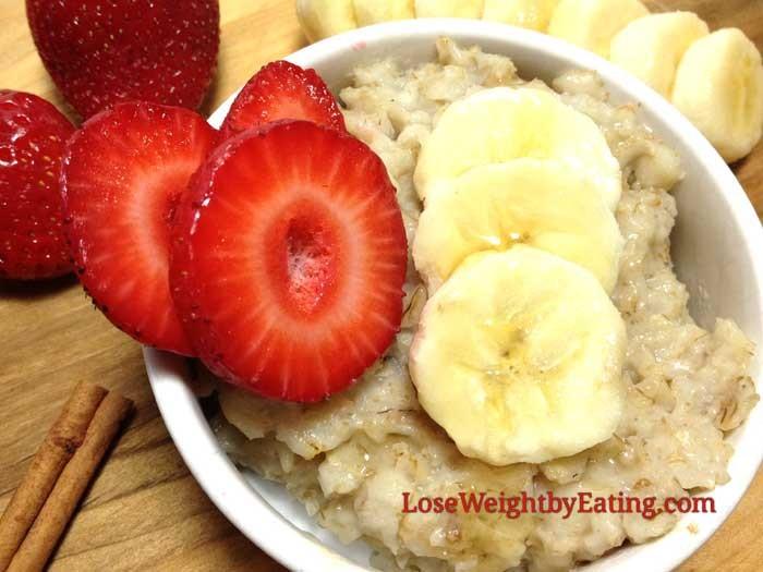 فوائد الشوفان لزيادة الوزن ـ الشوفان بالفراولة