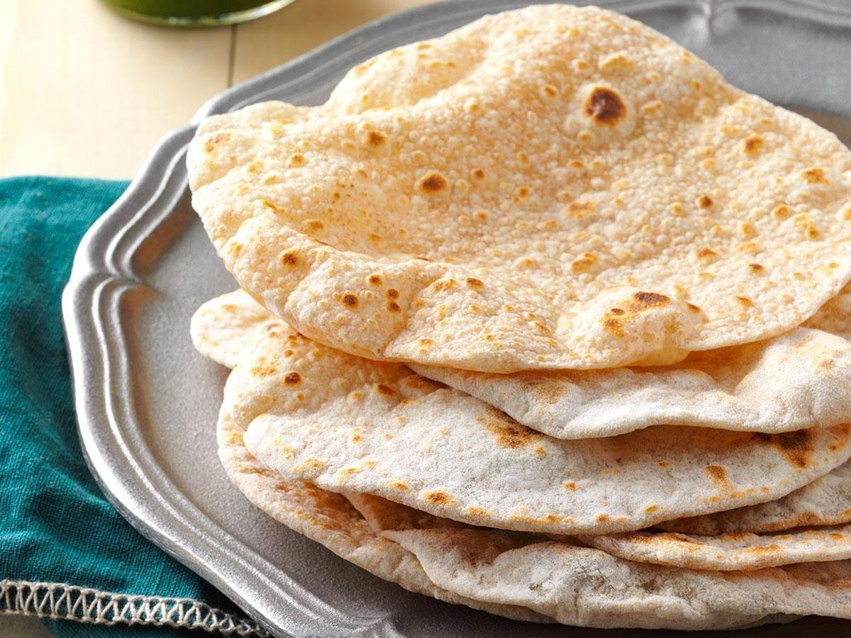 أنواع الخبز الهندي ـ الشباتي
