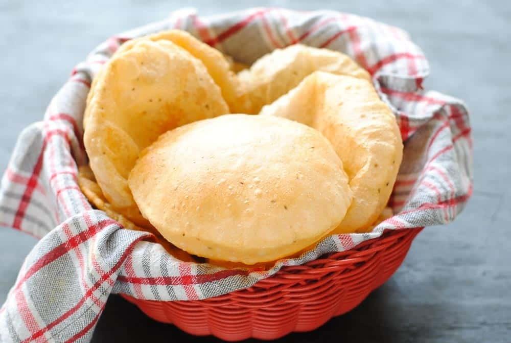 أنواع الخبز الهندي ـ البوري