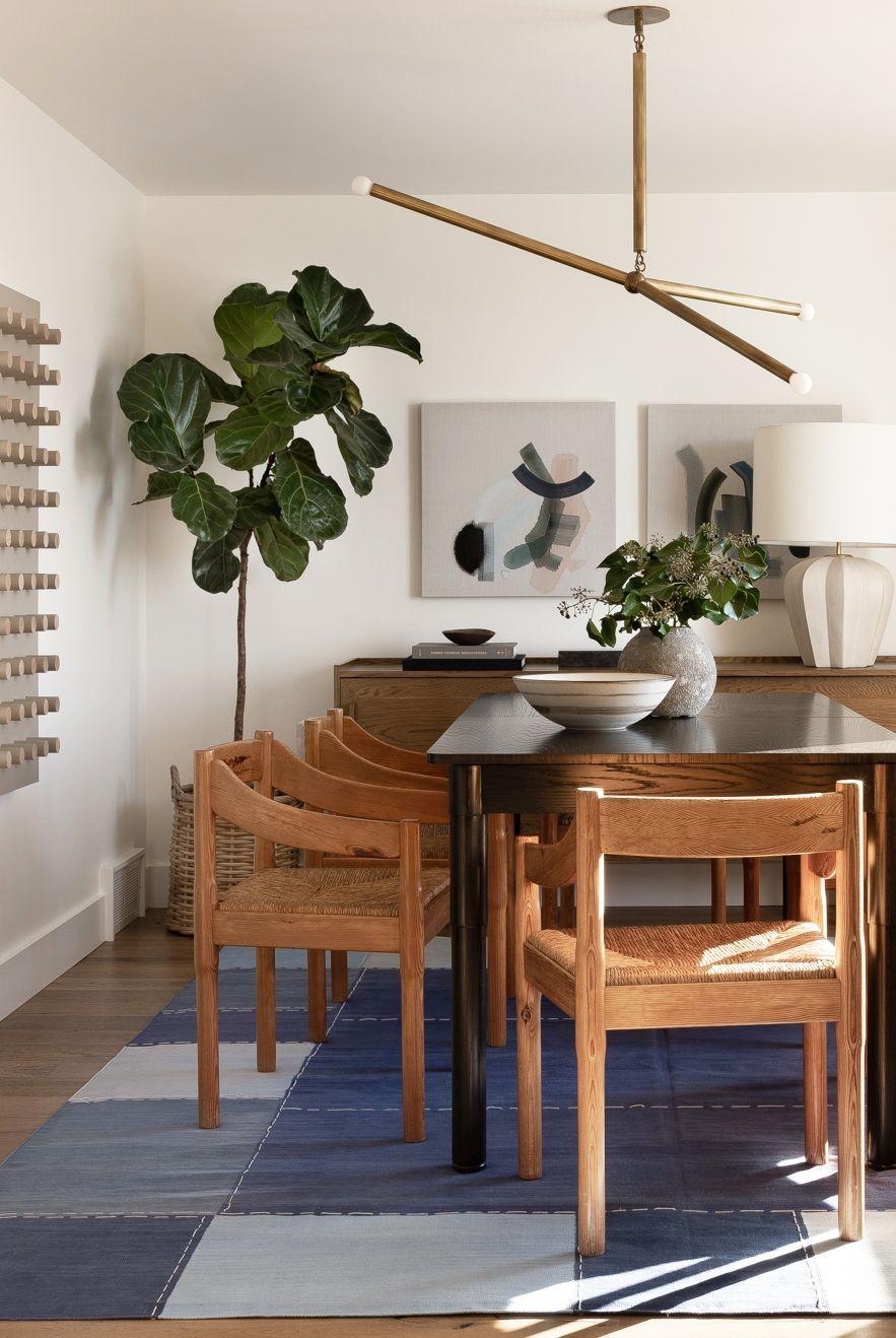 غرف سفرة مودرن كاملة ـ سفرة مستطيلة خشبية