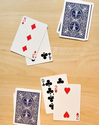 تعليم الجمع للأطفال ـ لعبة الورق