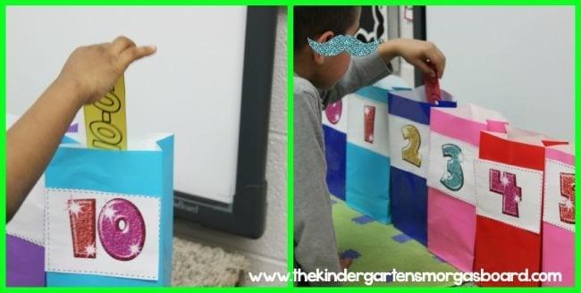 تعليم الطرح للأطفال ـ لعبة فرز البطاقات