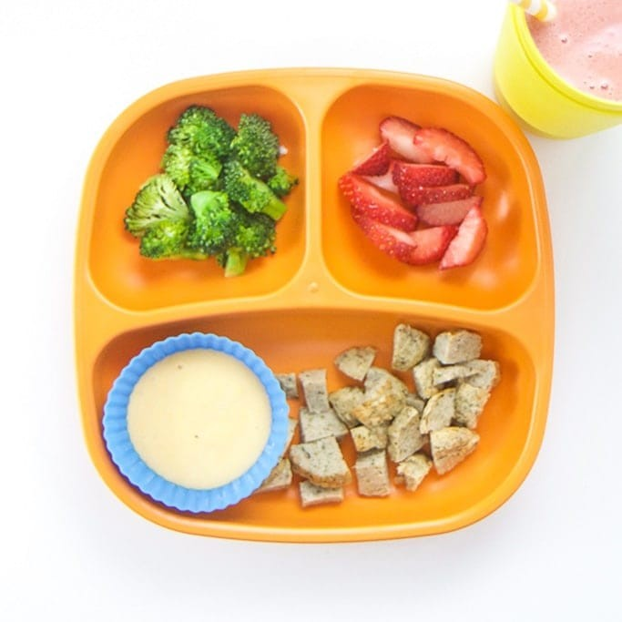 وجبات للطفل بعد الفطام ـ الوجبة الثانية