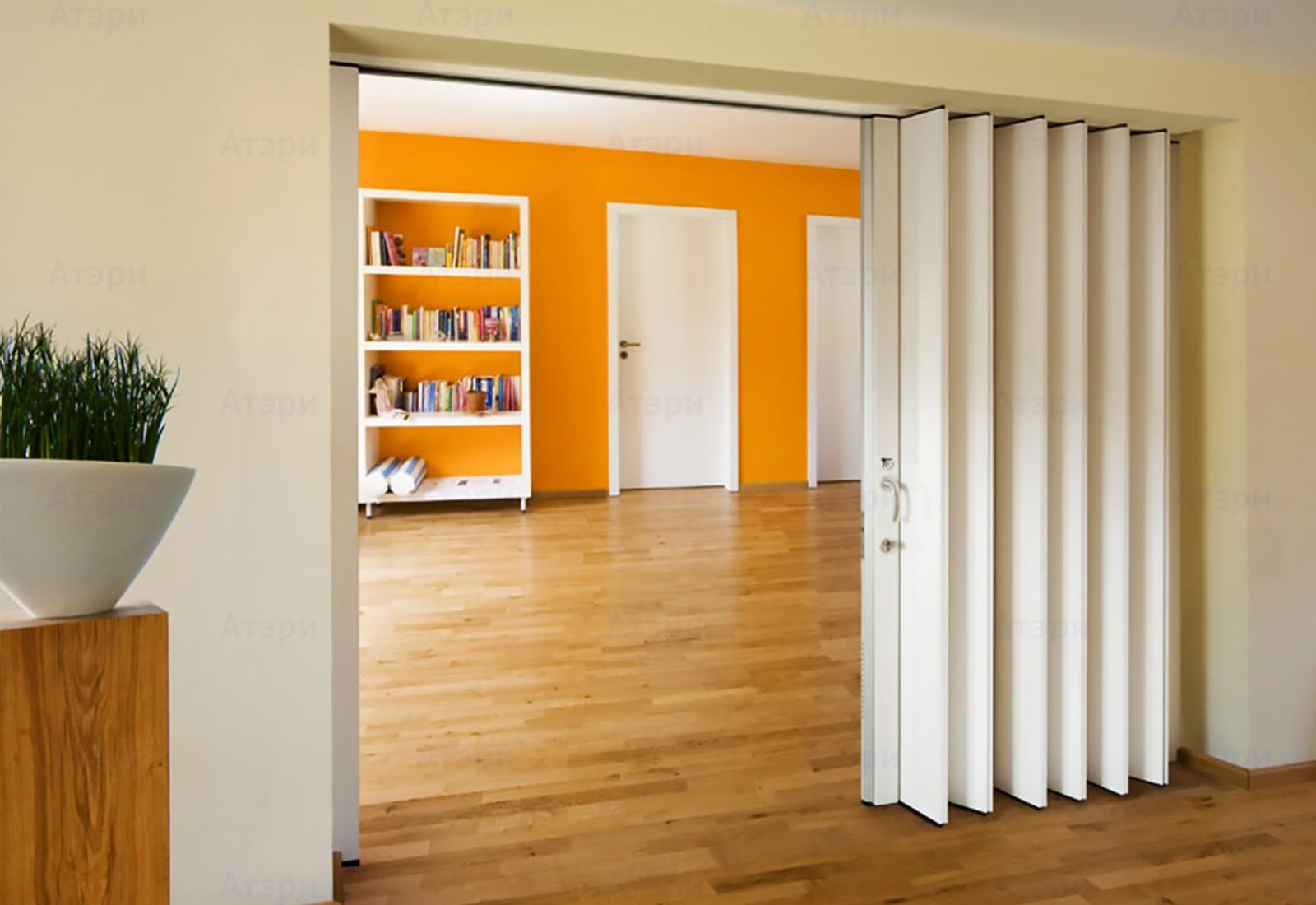 أشكال أبواب جرارة داخل المنزل ـ باب جرار أوكورديون