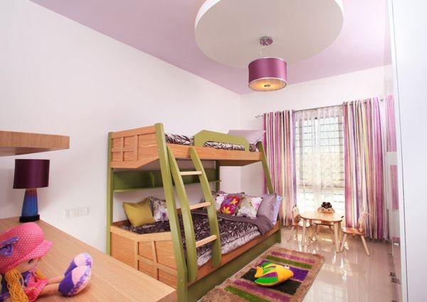 أشكال غرف أطفال دورين ـ غرفة أطفال بناتي