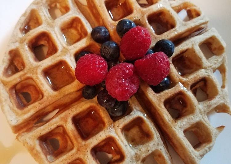 وصفات فطور أمريكي ـ وافل كاليفورنيا