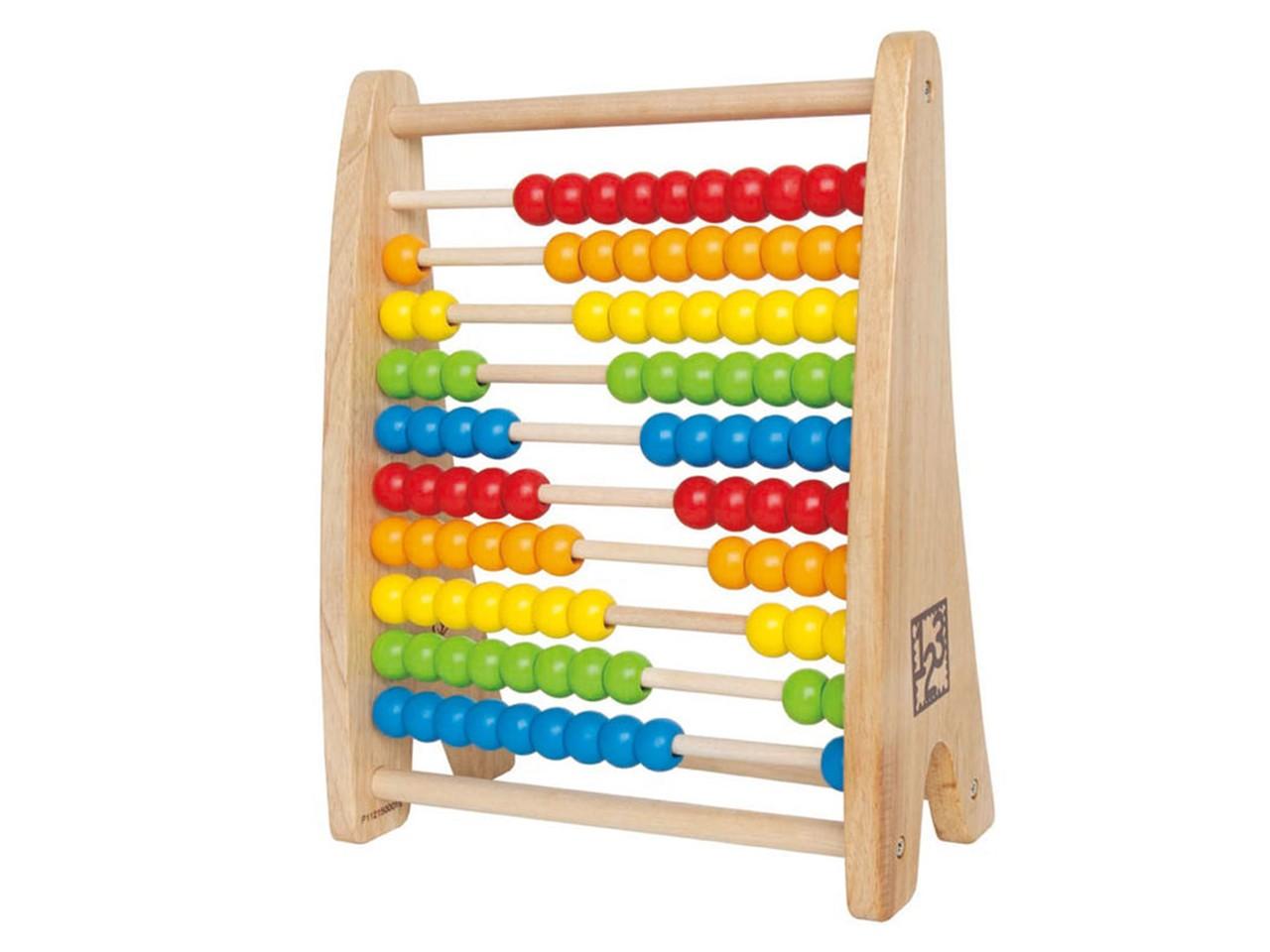 ألعاب خشبية للأطفال ـ عداد قوس قزح