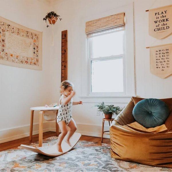 ألعاب خشبية للأطفال ـ اللوح الخشبي