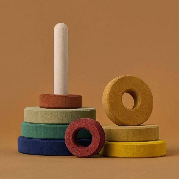 ألعاب خشبية للأطفال ـ البرج الخشبي
