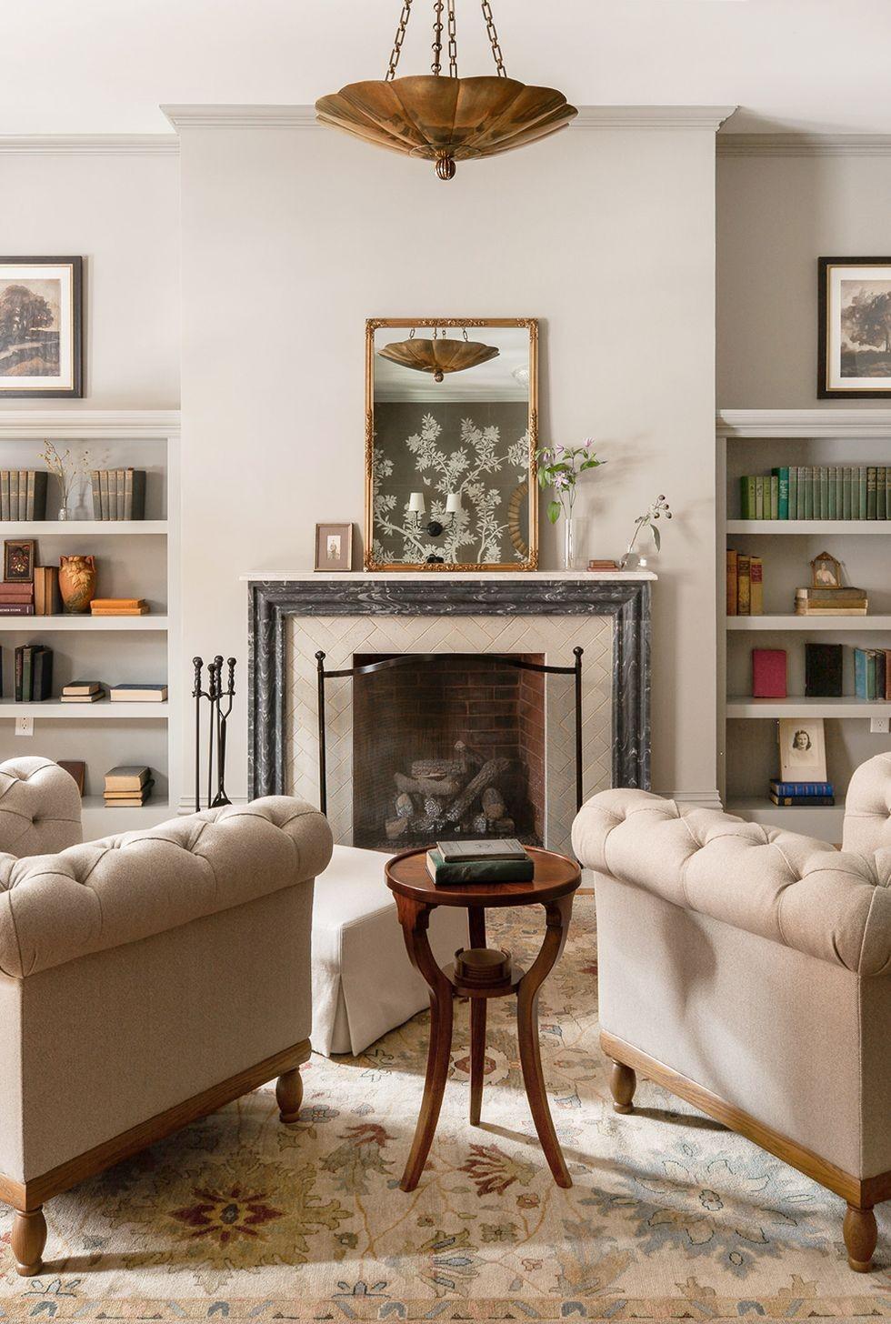 ديكورات ريسبشن صغير ـ استبدال الأريكة بالكراسي