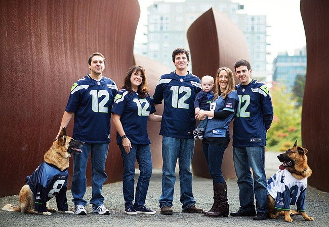 أفكار للصور العائلية المبتكرة ـ الفريق الواحد
