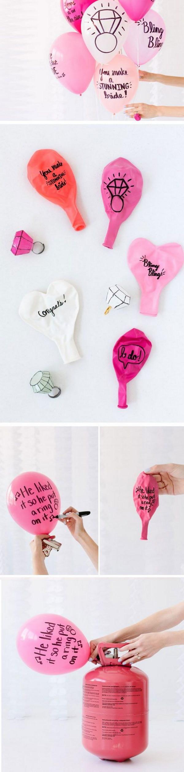 طريقة عمل أشكال بالبالونات لأعياد الميلاد - الكتابة على البالونات