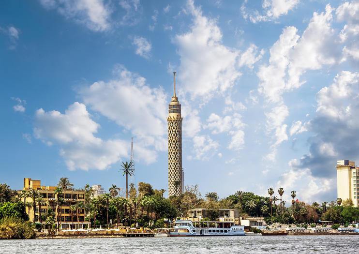 أماكن سياحية عائلية في القاهرة - برج القاهرة