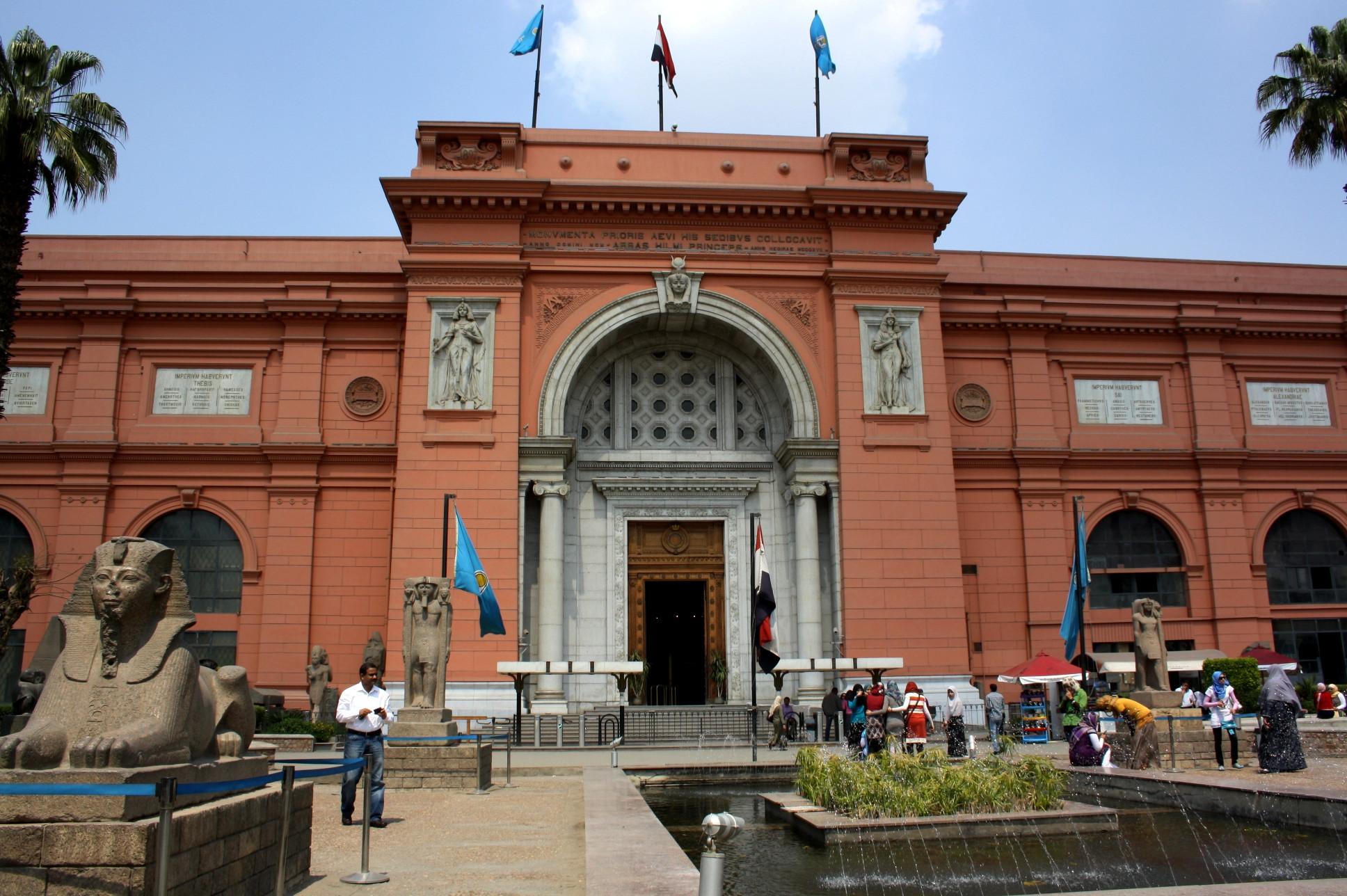أماكن سياحية عائلية في القاهرة - المتحف المصري