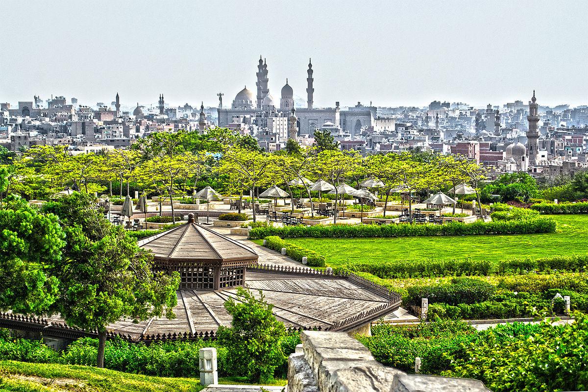 أماكن سياحية عائلية في القاهرة - حديقة الأزهر