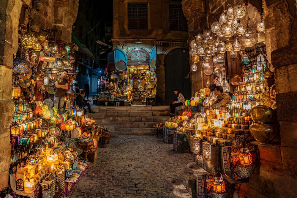 أماكن سياحية عائلية في القاهرة - خان الخليلي