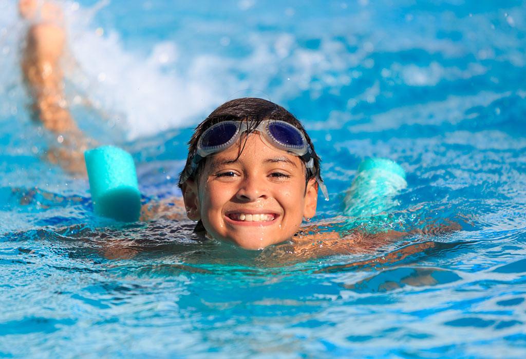 تمارين للأطفال 10 سنوات - تمرين السباحة