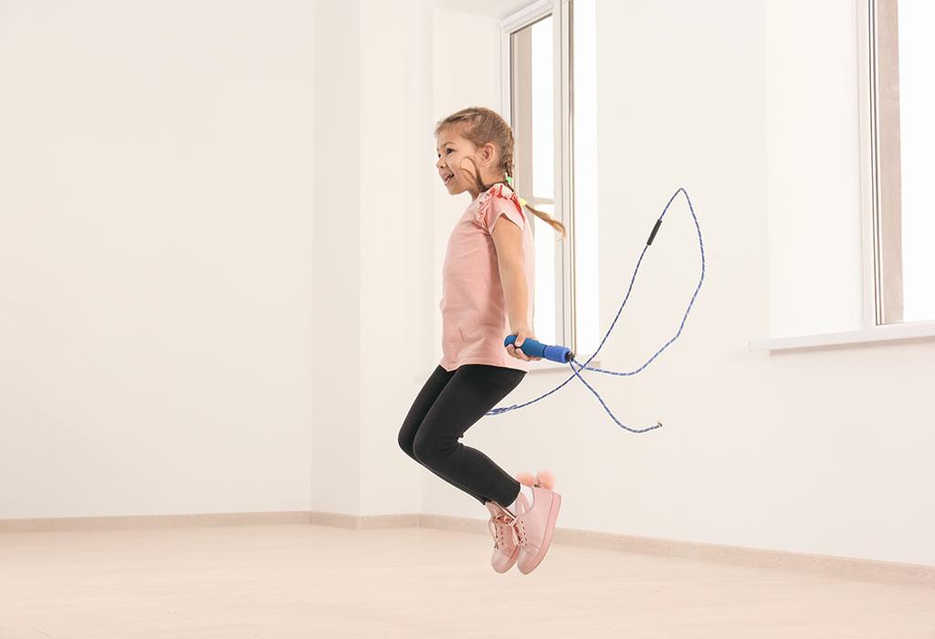تمارين للأطفال 10 سنوات - تمرين قفز الحبل