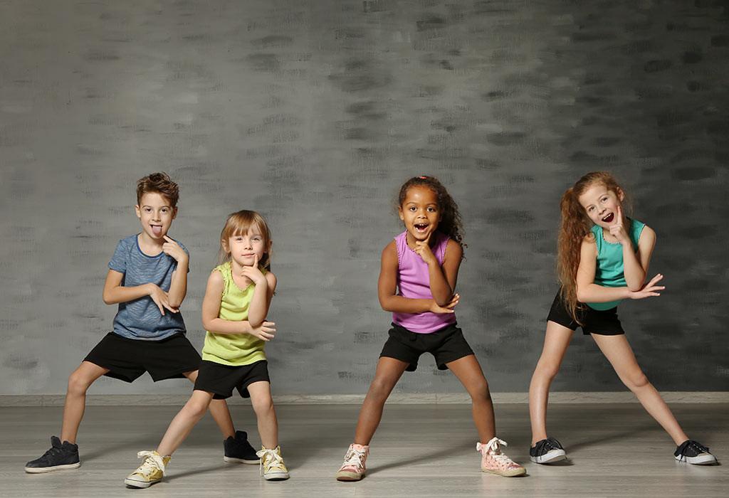 تمارين للأطفال 10 سنوات - تمرين الرقص