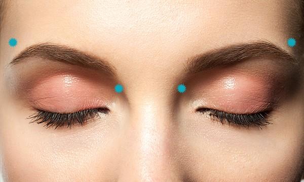 كيفية عمل مساج للعين - الخطوة الثانية