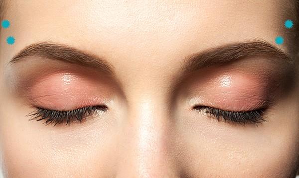 كيفية عمل مساج للعين - الخطوة الرابعة