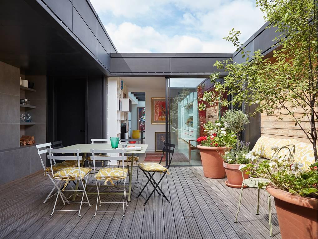 كيفية عمل حديقة منزلية صغيرة - حدائق مفتوحة على إحدى الغرف2