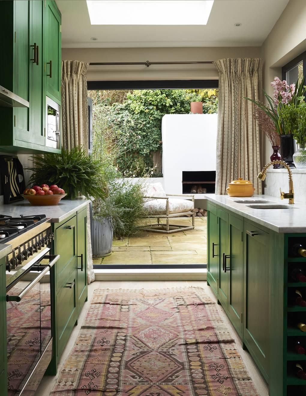 كيفية عمل حديقة منزلية صغيرة - حدائق مفتوحة على إحدى الغرف3
