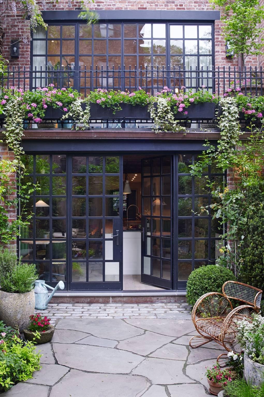 كيفية عمل حديقة منزلية صغيرة - حدائق مفتوحة على إحدى الغرف5