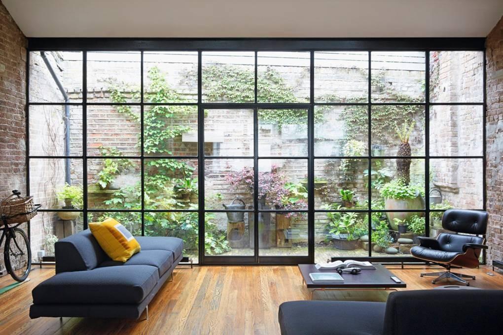 كيفية عمل حديقة منزلية صغيرة - حدائق مفتوحة على إحدى الغرف4