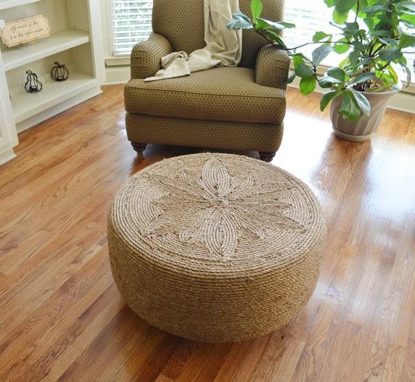 إعادة تدوير الإطارات - كرسي منضدة