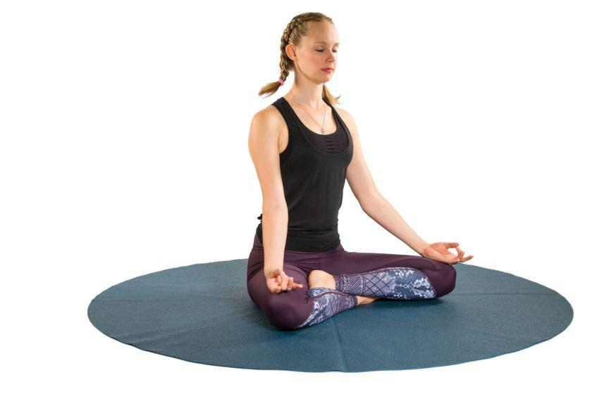تمارين اليوجا في الثلث الأول من الحمل - التمرين الأول