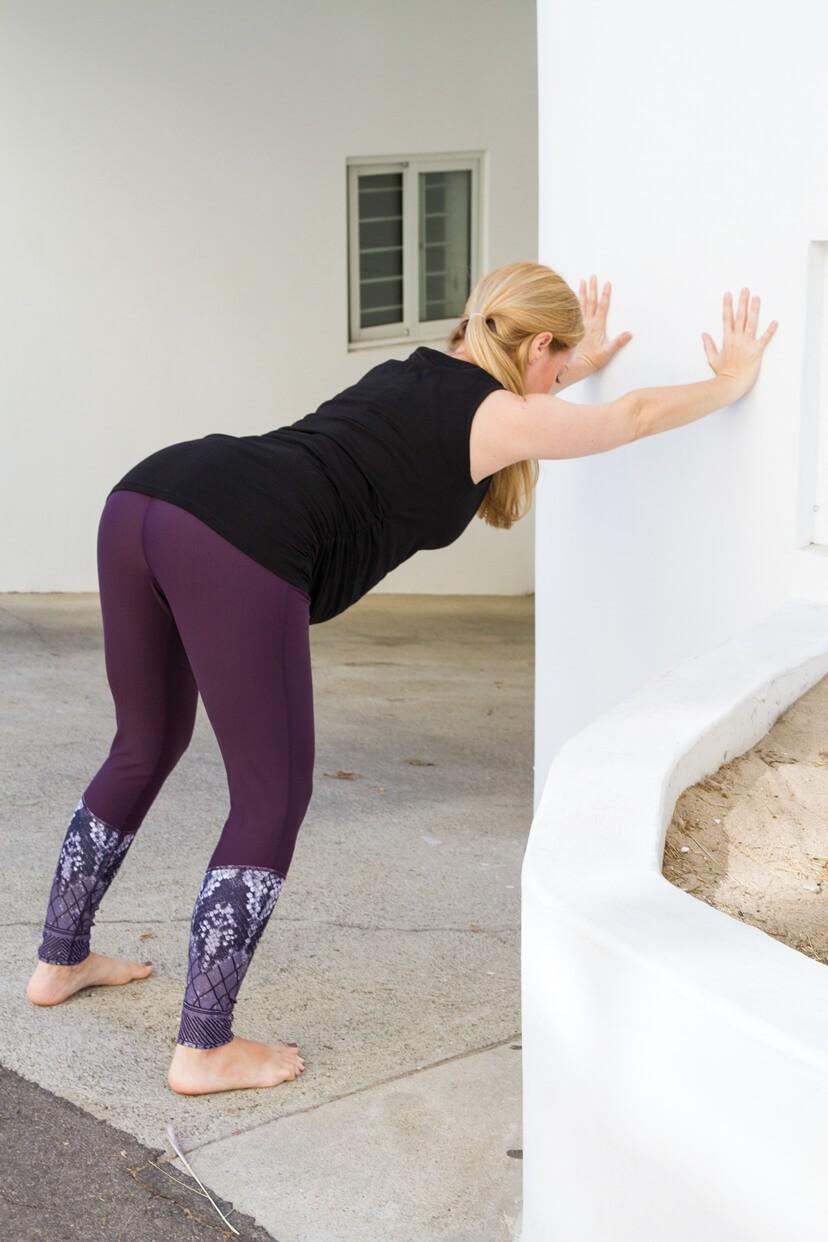 تمارين اليوجا في الثلث الثاني من الحمل - التمرين الأول