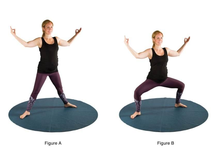 تمارين اليوجا في الثلث الثاني من الحمل - التمرين الثاني