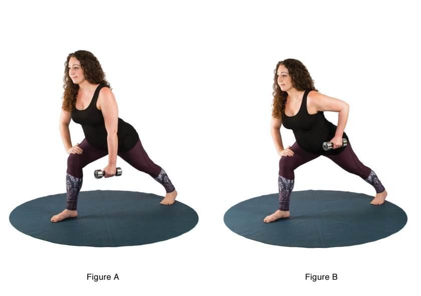 تمارين اليوجا في الثلث الثاني من الحمل - التمرين الثالث