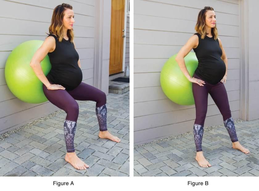 تمارين اليوجا في الثلث الثالث من الحمل - التمرين الثالث