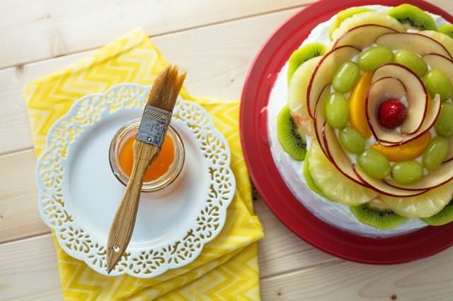 تزيين الكيك بالفاكهة للمبتدئين - فاكهة متنوعة