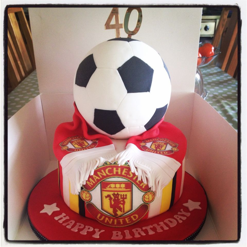 كيك عيد ميلاد زوجي- كيك محب الكرة